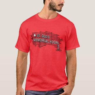 St. Gud minnes- sjukhus T-shirt