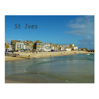 St Ives Cornwall England foto Vykort