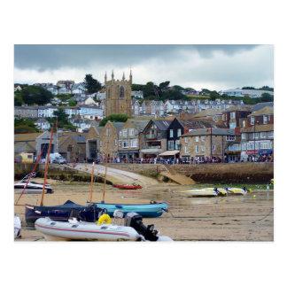 St Ives Cornwall England Vykort