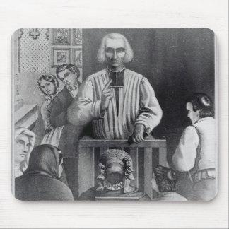 St. Jean-Marie Vianney som predikar, 19th århundra Musmatta