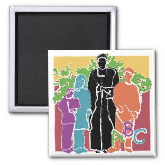 St John baptistiska Salle - läraremagnet Magnet