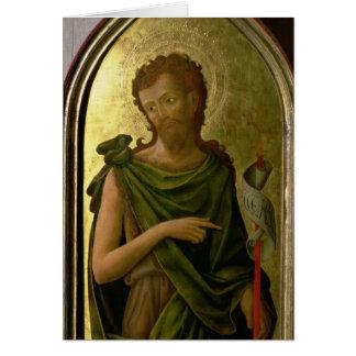 St John det baptistiskt Hälsningskort