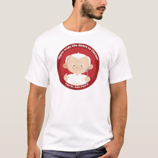 St John Paul II T Shirts
