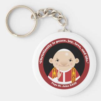St John XXIII Rund Nyckelring