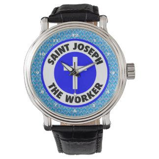 St Joseph arbetaren Armbandsur