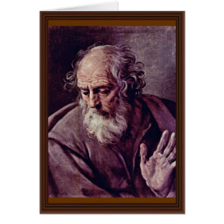 St Joseph av Reni Guido Hälsningskort