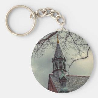 St Joseph kapell Rund Nyckelring