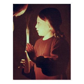 St Joseph snickaren, specificerar av spädbarn Vykort