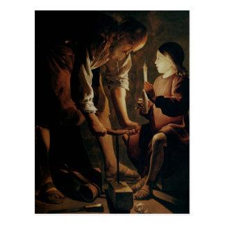 St Joseph snickaren Vykort