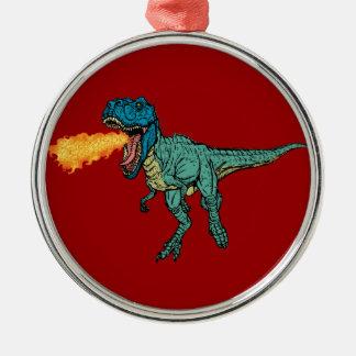 St Judeasaurus Rex vid den Steve mjölnaren Julgransprydnad Metall