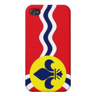 St Louis flagga iPhone 4 Skal
