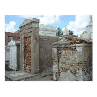 St Louis kyrkogård #1 - New Orleans Vykort