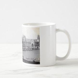 St Louis världs vintage 1904 för mässa Kaffemugg