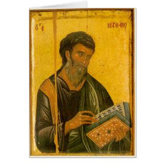 St Matthew Hälsningskort