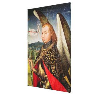 St Michael ärkeängeln, 1460-66 Canvastryck