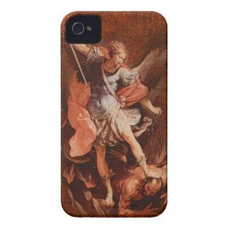 St Michael ärkeängeln iPhone 4 Case-Mate Skydd
