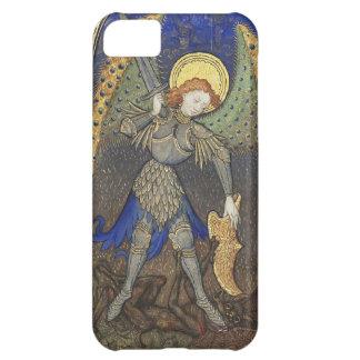 St Michael ärkeängeln med djävulen iPhone 5C Fodral