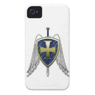 St Michael - drakefjäll skyddar iPhone 4 Case-Mate Case