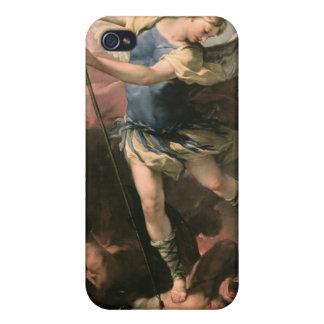 St Michael Luca Giordano (Fa-Presto) iPhone 4 Cover