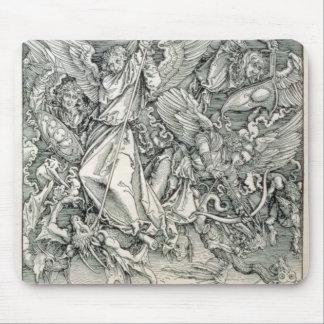 St Michael som slåss med draken Musmatta