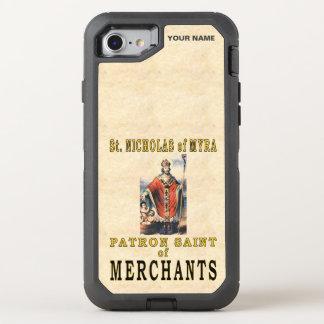 St Nicholas av MYRA (skyddshelgonet av köpmän) OtterBox Defender iPhone 7 Skal