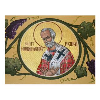 St Nicholas Under-Arbetare bönkortet Vykort