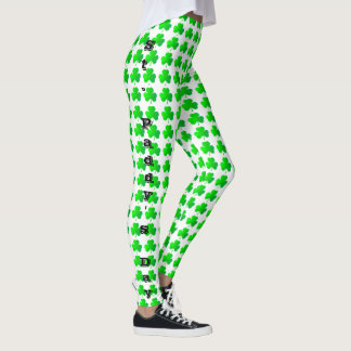 St. Paddy'sbyxor/damasker Leggings