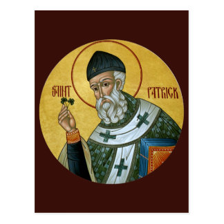 St Patrick bönkort Vykort