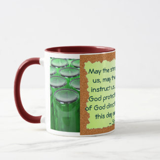 St Patrick mugg