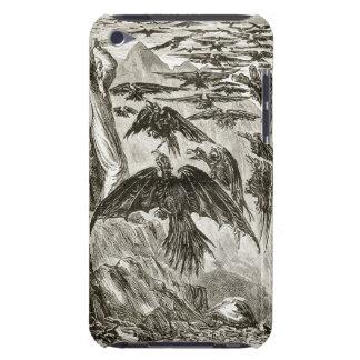 St Patrick och demonfåglarna, från 'triasen T iPod Touch Case-Mate Fodral