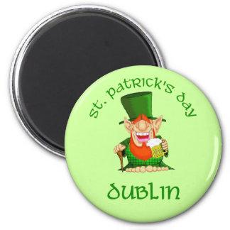 St patrick's day~ Dublin Magnet