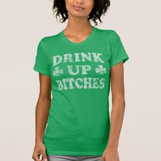 St patrick's day'drink upp satkäringar t shirt