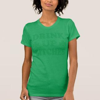 St patrick's day'drink upp satkäringar t-shirts