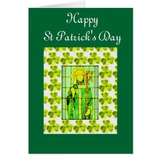 St patricks dayhälsningkort hälsningskort