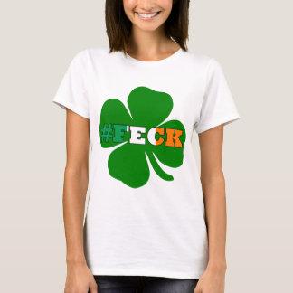 St Patricks för irländare för Hashtag fecktext Tee Shirt