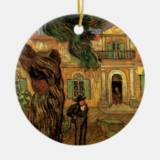 St Paul för trädgård för figur för Van Gogh Julgransprydnad Keramik