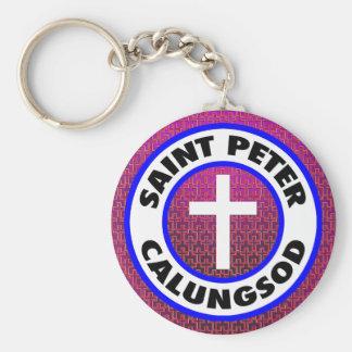 St Peter Calungsod Rund Nyckelring