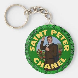 St Peter Chanel Rund Nyckelring