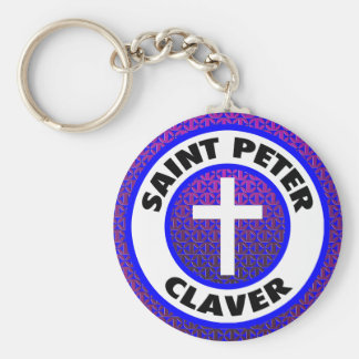 St Peter Claver Rund Nyckelring