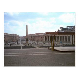 St Peter kvadrerar från basilicaen Vykort