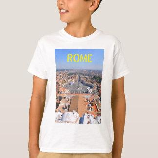 St Peter kvadrerar i Vatican, Rome, italien Tee Shirt