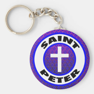 St Peter Rund Nyckelring