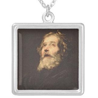 St Peter Silverpläterat Halsband
