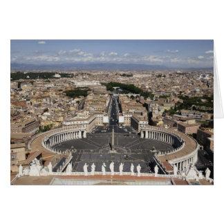 St Peters kvadrerar, Rome Hälsningskort