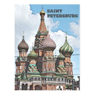 St Petersburg Ryssland Vykort