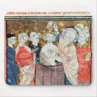 St. Remigius, biskop av Rheims att döpa Musmatta