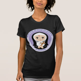 St. Rita av Cascia Tee Shirt
