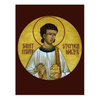 St Stephen Protomartyrbönkortet Vykort