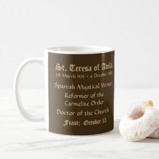 St Teresa av den Avila (SNV 27) (rundan) Kaffemugg