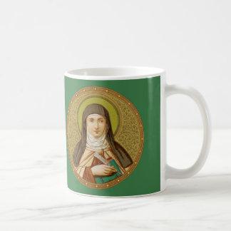 St Teresa av rundan för Avila (SNV 27) kaffemugg